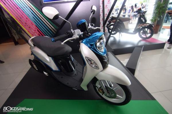 Yamaha Fino 125 Blue Core 02 Pertamax7.com