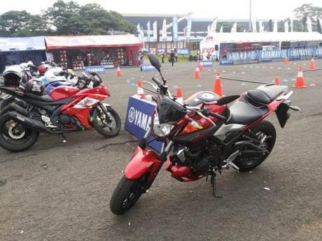 Yamaha Indonesia Ramaikan IIMS 2015 Bertabur Hadiah Ada Testride Yamaha MT-25 pertamax7.com