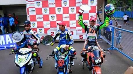 Yamaha Jupiter MX King Sapu bersih Kejurnas Underbone Sport 150 Sentul Kecil, Balap Sepi Pasukan Honda Tak bertanding pertamax7.com