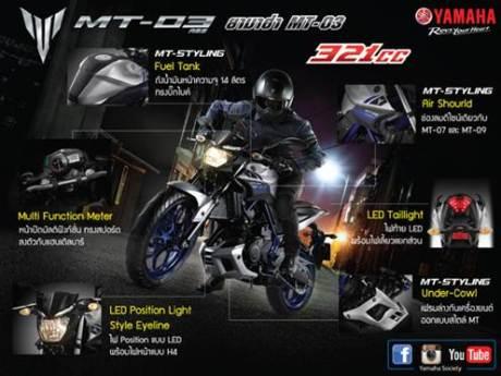 Yamaha MT-03 ABS resmi hadir di Thailand cuma Rp.69,9 Juta saja Made In Indonesia 05 Pertamax7.com