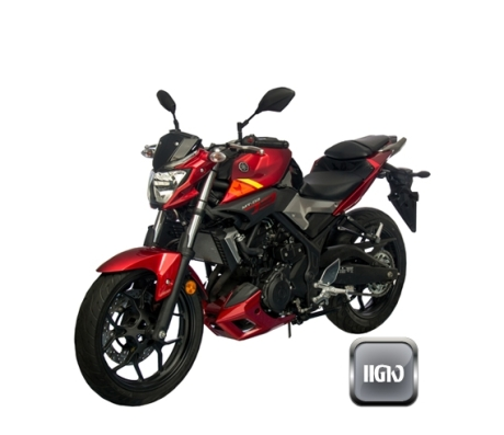 yamaha MT-03 red