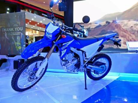 Yamaha WR250R di Indonesia Motorcycle Show 2014