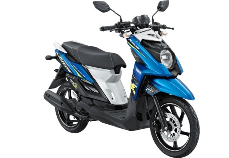 Yamaha X-Ride Biru CROSSER BLUE pertamax7.com