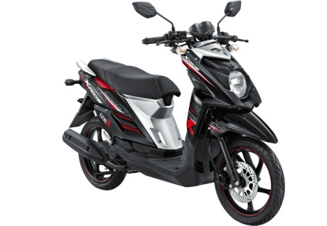 Yamaha X-Ride Hitam ADVENTURE BLACK pertamax7.com