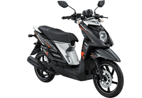Yamaha X-Ride Hitam DRIFTING BLACK pertamax7.com