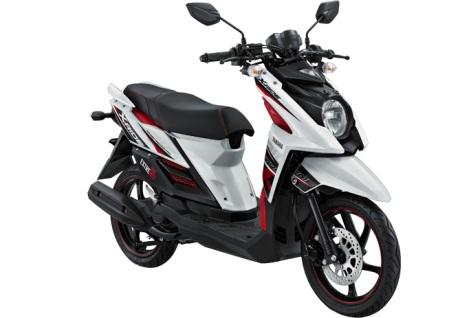 Yamaha X-Ride putih SKATER WHITE pertamax7.com