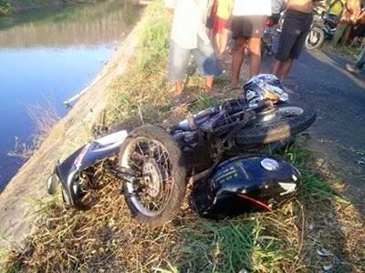 Adu Banteng Yamaha Vixion VS Honda Megapro Remuk akibat Rider Mabuk di Tulungagung  2 pertamax7.com