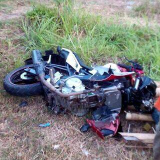 Adu Banteng Yamaha Vixion VS Honda Megapro Remuk akibat Rider Mabuk di Tulungagung  3 pertamax7.com
