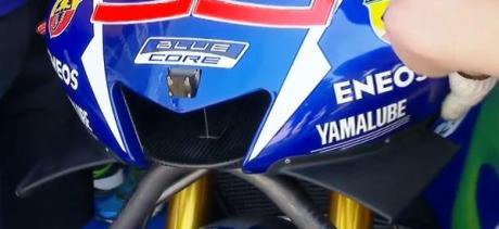 aerodynamic winglets yamaha YZF-M1 san marino pertamax7.com