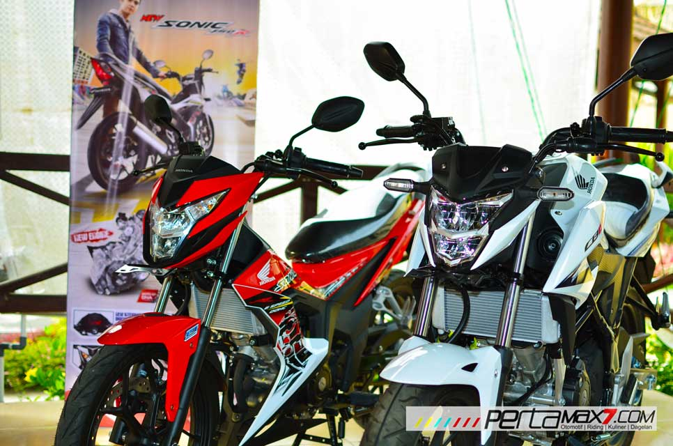 All new Honda CB150R dan New Sonic 150R resmi dijual di Astra motor Yogyakarta pertamax7.com
