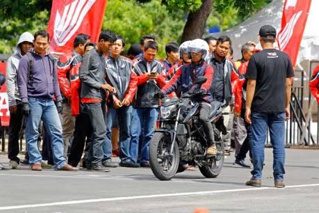 Astra Motor Yogyakarta Perkenalkan All New CB150R dan New Sonic 150R dalam Honda Speed Heroes Show 2015  01 Pertamax7.com