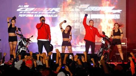 Astra Motor Yogyakarta Perkenalkan All New CB150R dan New Sonic 150R dalam Honda Speed Heroes Show 2015  03 Pertamax7.com