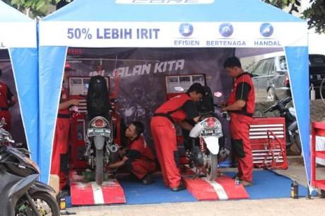 Free service motor all brand peserta Career Talk Show Yamaha & Universitas Indonesia (1)