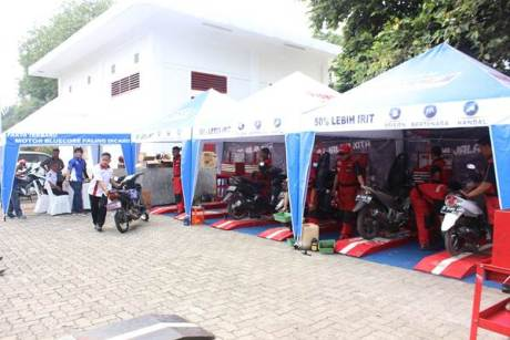 Free service motor all brand peserta Career Talk Show Yamaha & Universitas Indonesia (2)