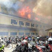 Gedung Mapolda Jateng Terbakar, banyak Motor Hangus 01 Pertamax7.com