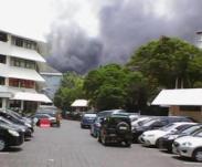 Gedung Mapolda Jateng Terbakar, banyak Motor Hangus 06 Pertamax7.com