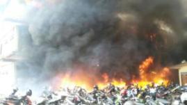 Gedung Mapolda Jateng Terbakar, banyak Motor Hangus 07 Pertamax7.com