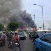 Gedung Mapolda Jateng Terbakar, banyak Motor Hangus 09 Pertamax7.com