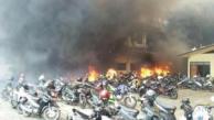 Gedung Mapolda Jateng Terbakar, banyak Motor Hangus 11 Pertamax7.com