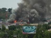Gedung Mapolda Jateng Terbakar, banyak Motor Hangus 13 Pertamax7.com