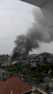 Gedung Mapolda Jateng Terbakar, banyak Motor Hangus 14 Pertamax7.com