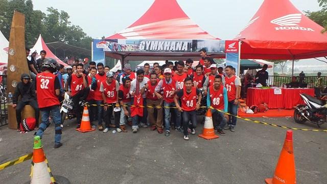 Gymkhana New Honda Sonic Medan diPadati 118 Starter hadiah mantabh 10 pertamax7.com