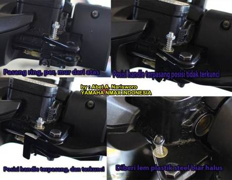 Inspirasi Parking Lock Brake Buat Yamaha NMax 155 01 Pertamax7.com