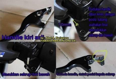 Inspirasi Parking Lock Brake Buat Yamaha NMax 155 07 Pertamax7.com