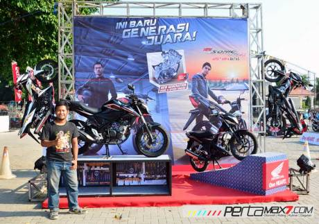 intip-acara-grand-launching-all-new-Honda-CB15R-dan-New-Sonic-150R-Ponorogo-Jatim01 Pertamax7.com