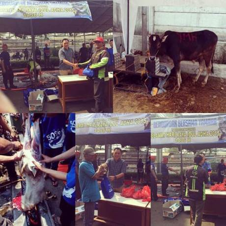 Intip Yamaha Indonesia Rayakan Idul Adha 1436H 01 pertamax7.com