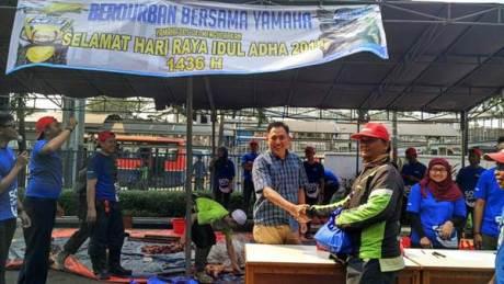 Intip Yamaha Indonesia Rayakan Idul Adha 1436H 03 pertamax7.com