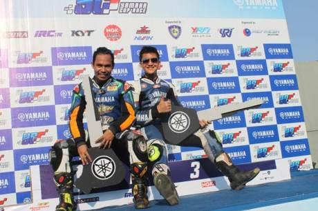 Juara Umum Seri 5 Yamaha Cup Race di Pati Jawa Tengah - Kelas Seeded Reynaldi Pradana dan Kelas Pemula Daffa  Kresna