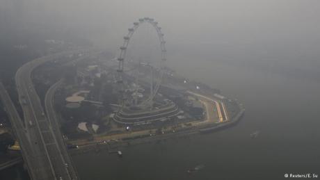 kabut asap ganggu F1 singapura