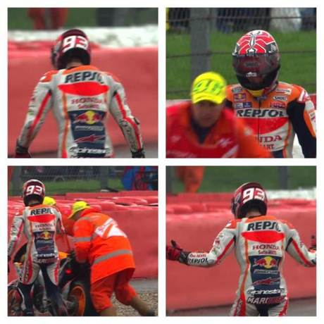 Marshall Motogp Silverstone 2015 Fans Rossi pakai Topi 46 saat Angkkat Marquez Crash 02 pertamax7.com