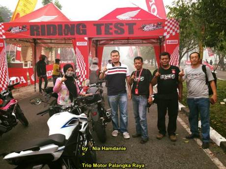 Meriahnya Grand Launching All New Honda CB150r dan New Sonic 150R di Palanka Raya 00 pertamax7.com