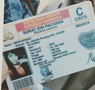 Modal SIM palsu Editan Plesetan, Bocah ini nangis Kala di tilang Polisi pertamax7.com 1