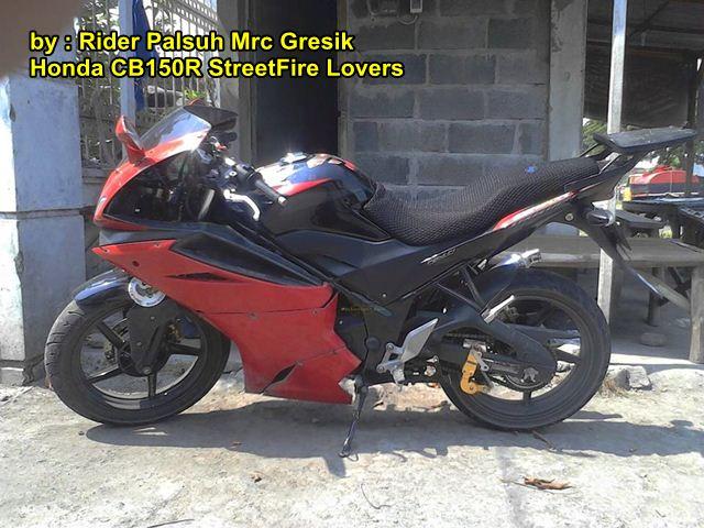Modifikasi Honda Old CB150R pakai Fairing Minerva Megelli 250 00 pertamax7.com