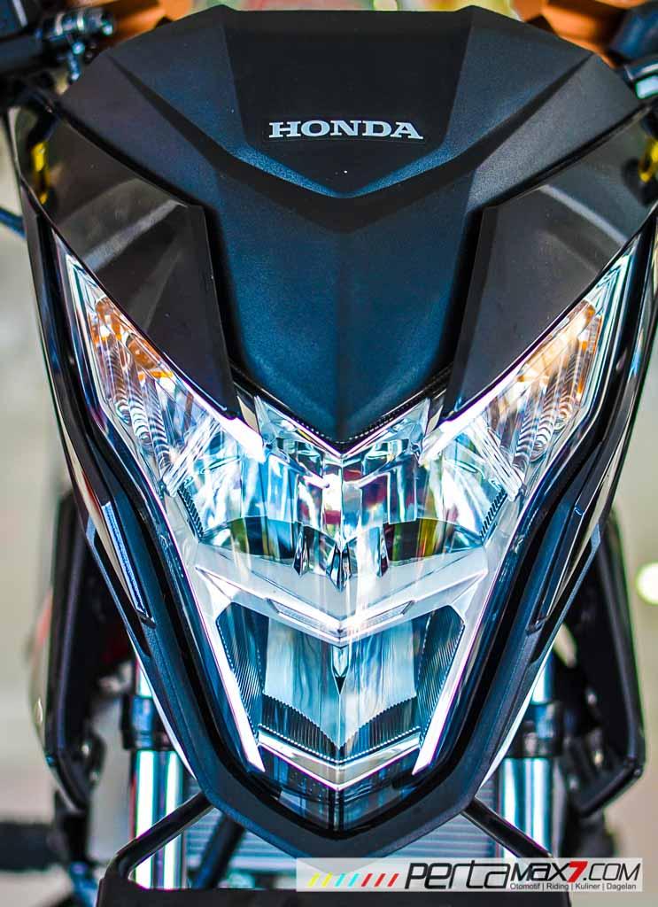 Modifikasi new Honda Sonic 150R velg Jari cakram Lebar pakai Tromol Supra X RDB_-13