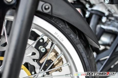 Modifikasi new Honda Sonic 150R velg Jari cakram Lebar pakai Tromol Supra X RDB_-8