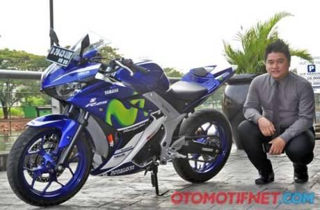 Modifikasi Yamaha R25 Movistar jadi 321 cc Tembus 45 HP di ban cuma Habis Rp.60 Juta saja01 Pertamax7.com