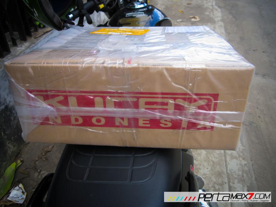 Mudahnya Pasang Braket geser Kucay di Honda Megapro plus Box Givi E20 Kuat mantabh 02 Pertamax7.com