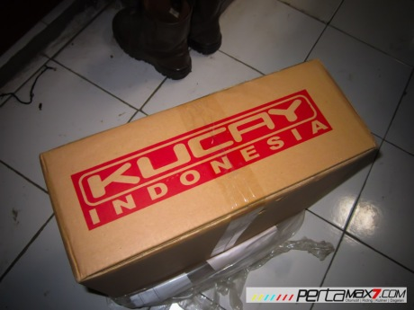 Mudahnya Pasang Braket geser Kucay di Honda Megapro plus Box Givi E20 Kuat mantabh 03 Pertamax7.com