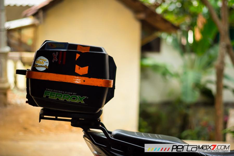 Mudahnya Pasang Braket geser Kucay di Honda Megapro plus Box Givi E20 Kuat mantabh 22 Pertamax7.com