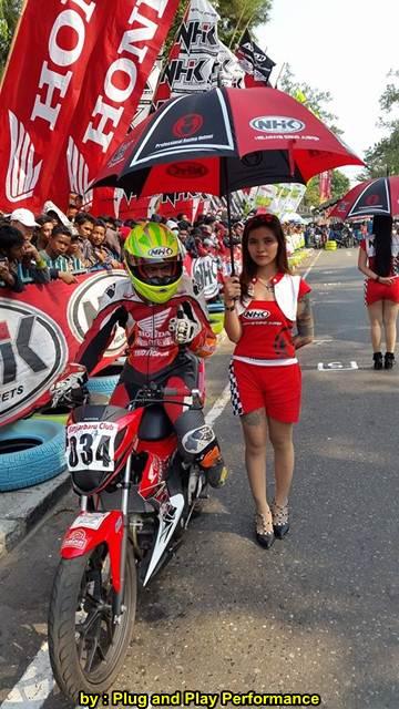 New Honda Sonic 150R Juara 1 Road Race Banjarmasin Dijepit 2 Suzuki Satria Karbu 04 pertamax7.com