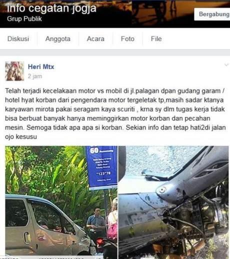 Ngilu Lihat Tabrakan Bebek vs Mobil ini, Sampai Mesin pecah 01 pertamax7.com