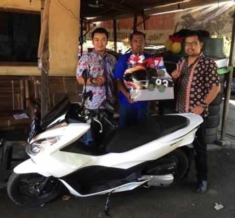 Pak Ruli Kurniawan, Sudah beli 25 unit Motor Honda, Kini beli PCX