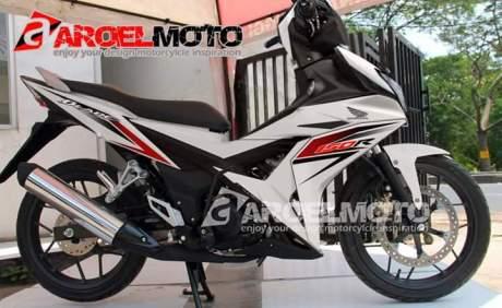 photoshop New Honda Blade 150 K56F menghangat, Bebek murni Super