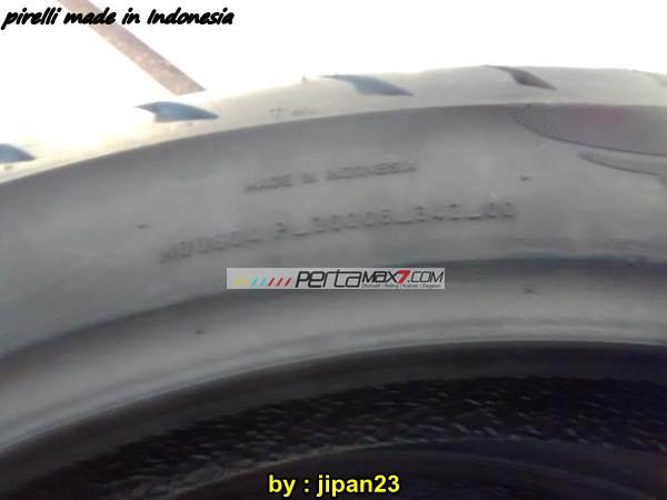 Pirelli Angel GT made in Indonesia 03 pertamax7.com