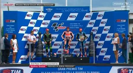 podium motogp san marino 2015 marquez smith redding