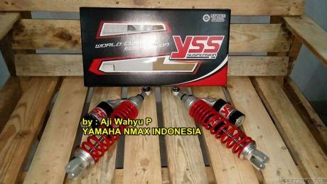 Resmi di Launching, YSS Tipe G-Series Yamaha Nmax 155 dibanderol Rp.3,8 juta 01 pertamax7.com